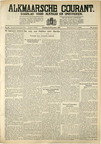 Alkmaarsche Courant 1937-11-16