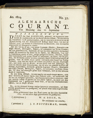 Alkmaarsche Courant 1804-09-10