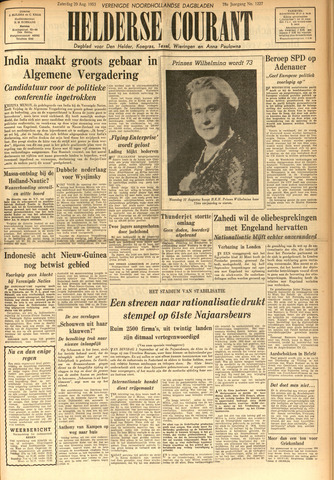 Heldersche Courant 1953-08-29