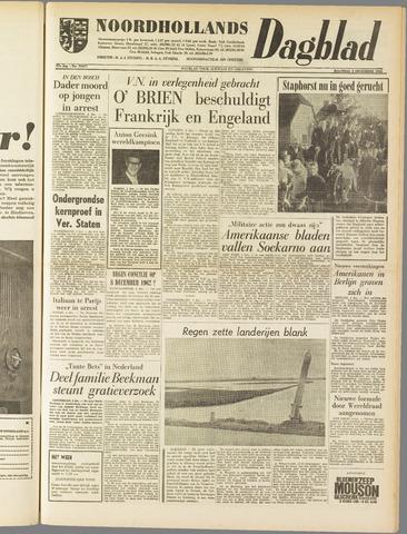 Noordhollands Dagblad : dagblad voor Alkmaar en omgeving 1961-12-04