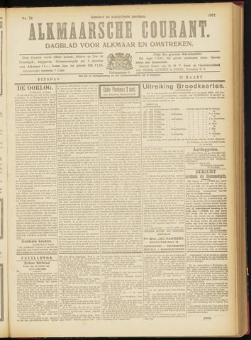 Alkmaarsche Courant 1917-03-27