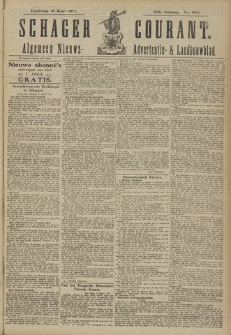 Schager Courant 1911-03-16