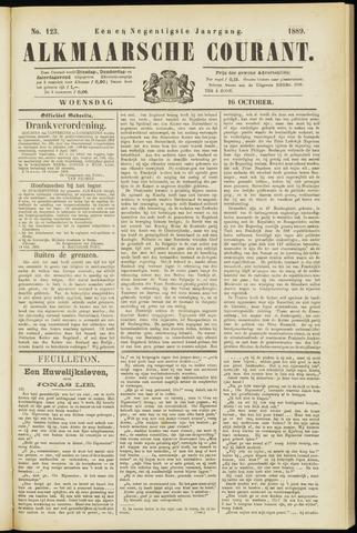 Alkmaarsche Courant 1889-10-16