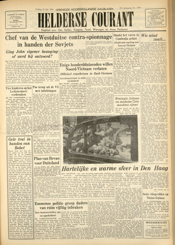 Heldersche Courant 1954-07-23