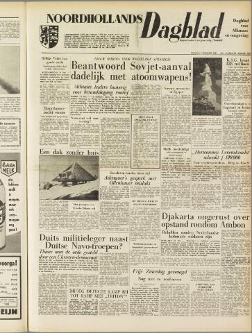 Noordhollands Dagblad : dagblad voor Alkmaar en omgeving 1954-12-14