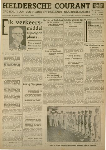 Heldersche Courant 1938-07-06