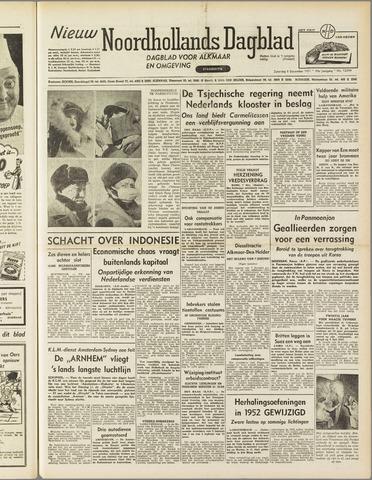 Nieuw Noordhollandsch Dagblad : voor Alkmaar en omgeving 1951-12-08