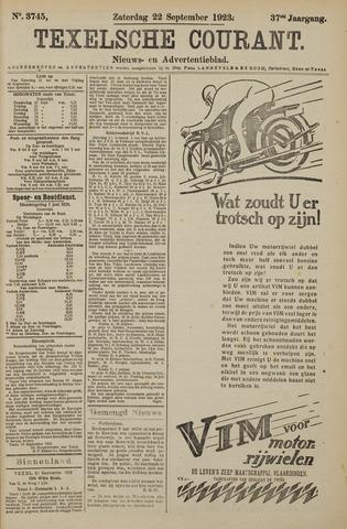 Texelsche Courant 1923-09-22