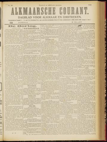 Alkmaarsche Courant 1916-03-21