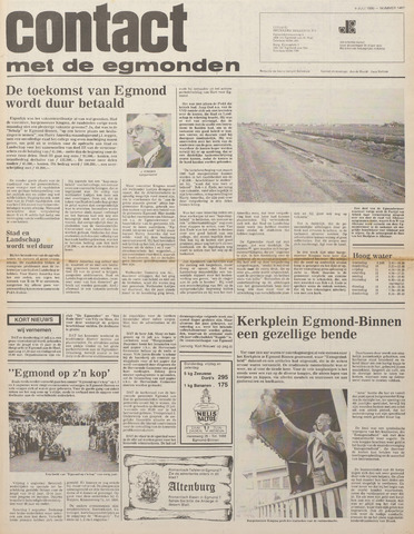 Contact met de Egmonden 1980-07-09