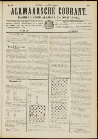 Alkmaarsche Courant 1910-08-05