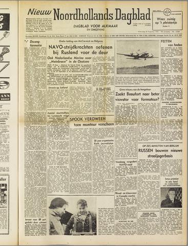 Nieuw Noordhollandsch Dagblad : voor Alkmaar en omgeving 1952-08-20