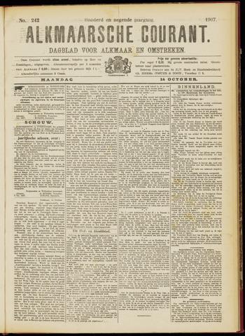 Alkmaarsche Courant 1907-10-14