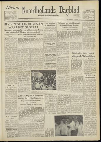Nieuw Noordhollandsch Dagblad : voor Alkmaar en omgeving 1948-09-28