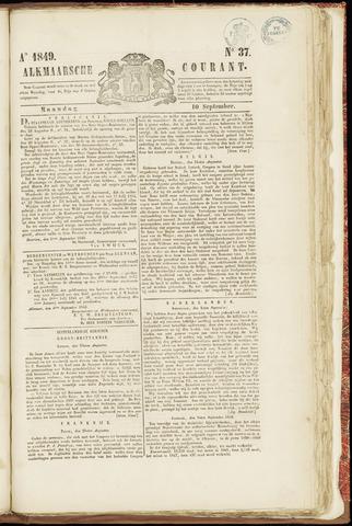 Alkmaarsche Courant 1849-09-10