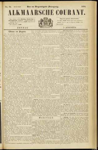 Alkmaarsche Courant 1894-08-05