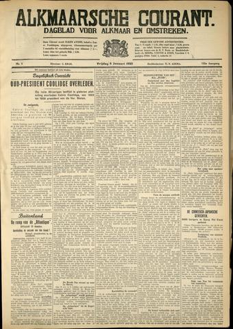 Alkmaarsche Courant 1933-01-06