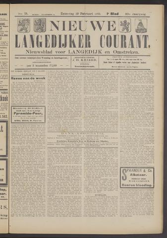 Nieuwe Langedijker Courant 1921-02-19