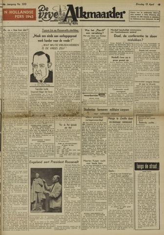 De Vrije Alkmaarder 1948-04-13