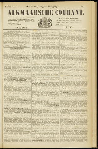 Alkmaarsche Courant 1894-06-17