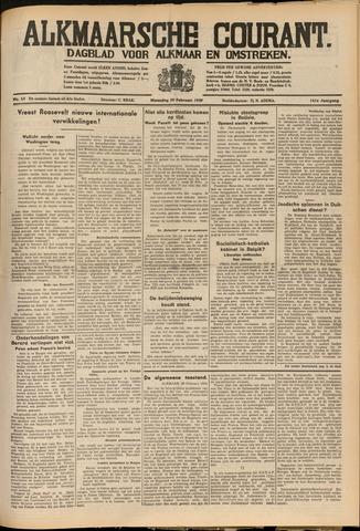 Alkmaarsche Courant 1939-02-20