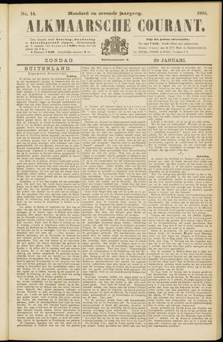 Alkmaarsche Courant 1905-01-29