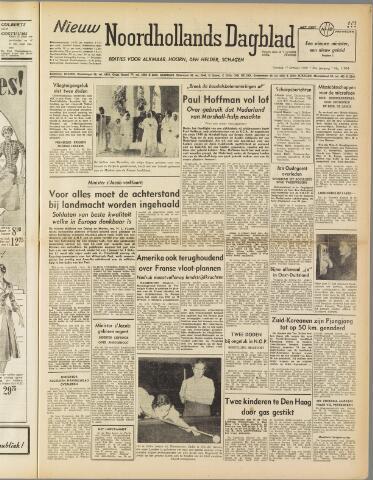 Nieuw Noordhollandsch Dagblad : voor Alkmaar en omgeving 1950-10-17