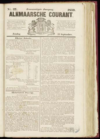 Alkmaarsche Courant 1859-09-11