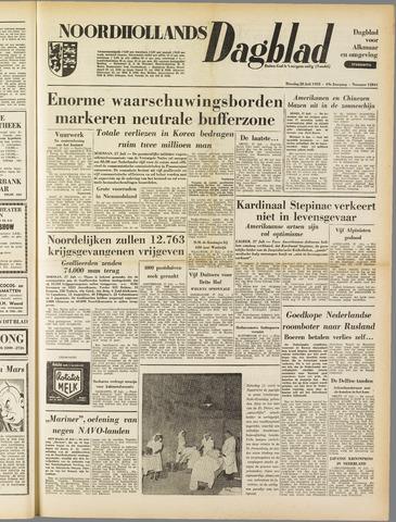 Noordhollands Dagblad : dagblad voor Alkmaar en omgeving 1953-07-28