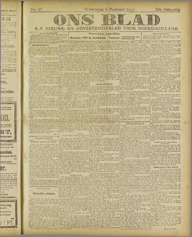 Ons Blad : katholiek nieuwsblad voor N-H 1919-02-05