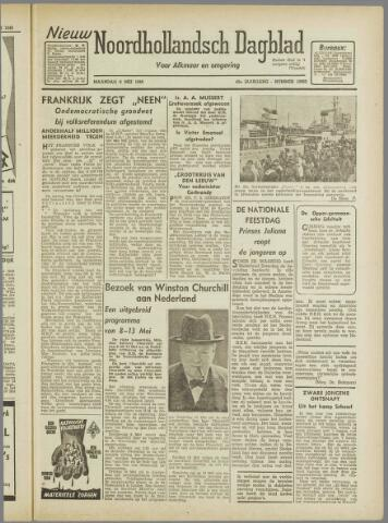 Nieuw Noordhollandsch Dagblad : voor Alkmaar en omgeving 1946-05-06