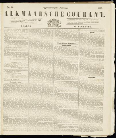 Alkmaarsche Courant 1873-08-10