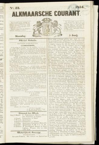 Alkmaarsche Courant 1854-06-05