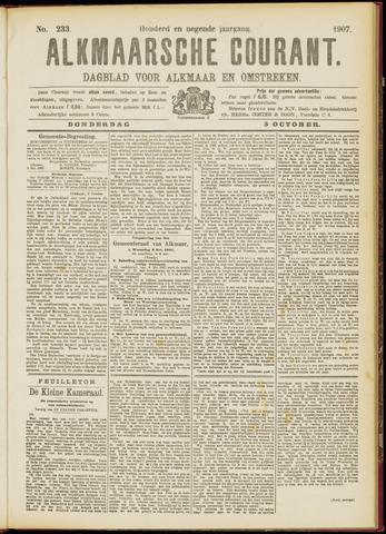 Alkmaarsche Courant 1907-10-03