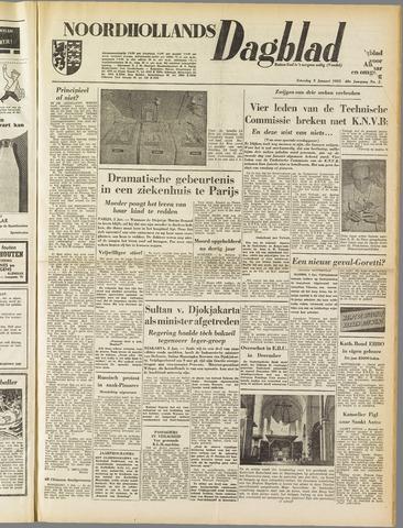 Noordhollands Dagblad : dagblad voor Alkmaar en omgeving 1953-01-03