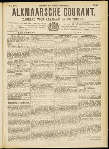 Alkmaarsche Courant 1906-05-17