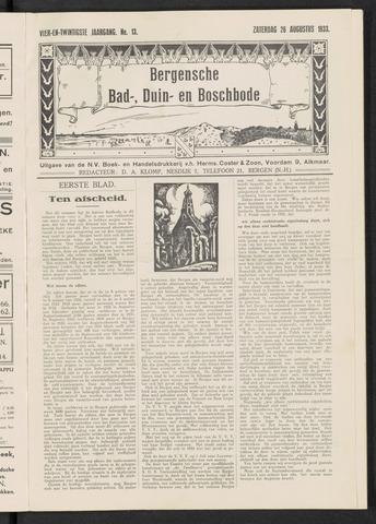 Bergensche bad-, duin- en boschbode 1933-08-26
