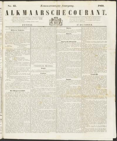 Alkmaarsche Courant 1869-10-17