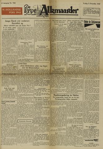 De Vrije Alkmaarder 1947-12-05