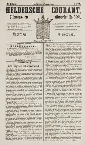 Heldersche Courant 1873-02-08