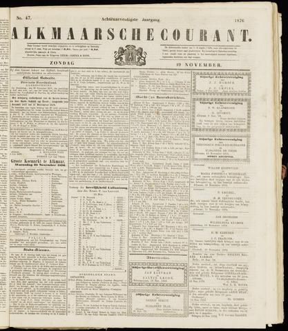 Alkmaarsche Courant 1876-11-19