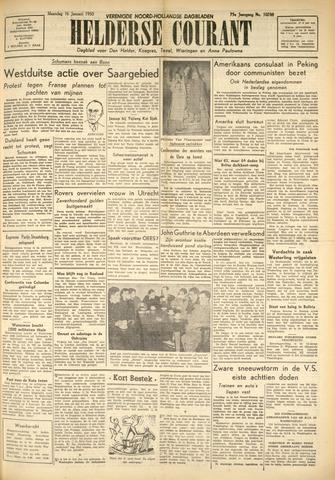 Heldersche Courant 1950-01-16