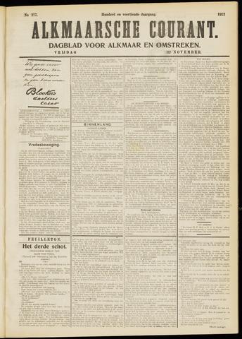 Alkmaarsche Courant 1912-11-22