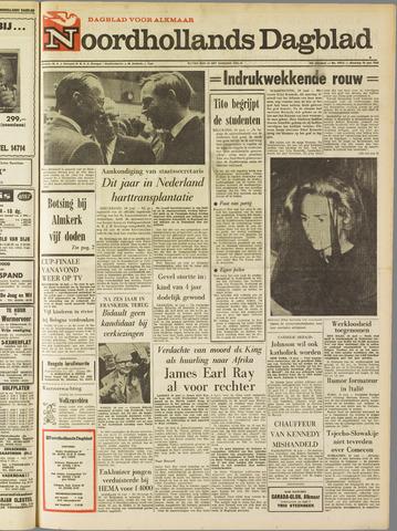 Noordhollands Dagblad : dagblad voor Alkmaar en omgeving 1968-06-10