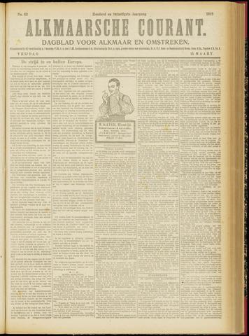 Alkmaarsche Courant 1918-03-15