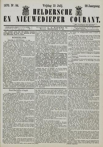 Heldersche en Nieuwedieper Courant 1870-07-15
