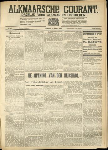 Alkmaarsche Courant 1933-03-21