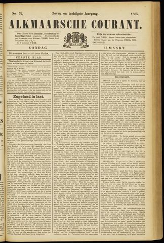 Alkmaarsche Courant 1885-03-15