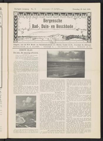 Bergensche bad-, duin- en boschbode 1939-07-29