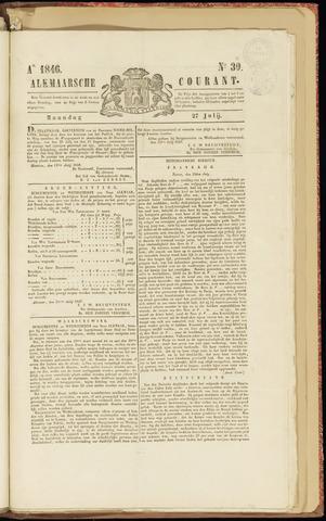 Alkmaarsche Courant 1846-07-27
